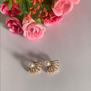 Pear earrings